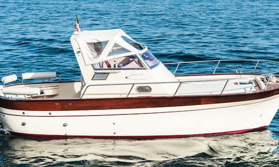 Jeranto 750 Semi Cabin Boat Rental In Massa Lubrense, Italy