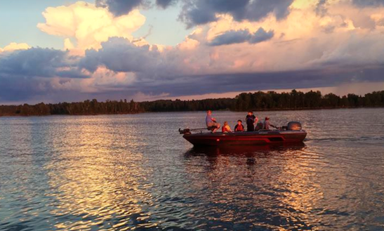 Enjoy Guided Fishing In Mercer, Wisconsin With Captain Jeff