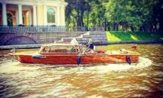 Book This Canal Boat In Saint Petersburg, Russia