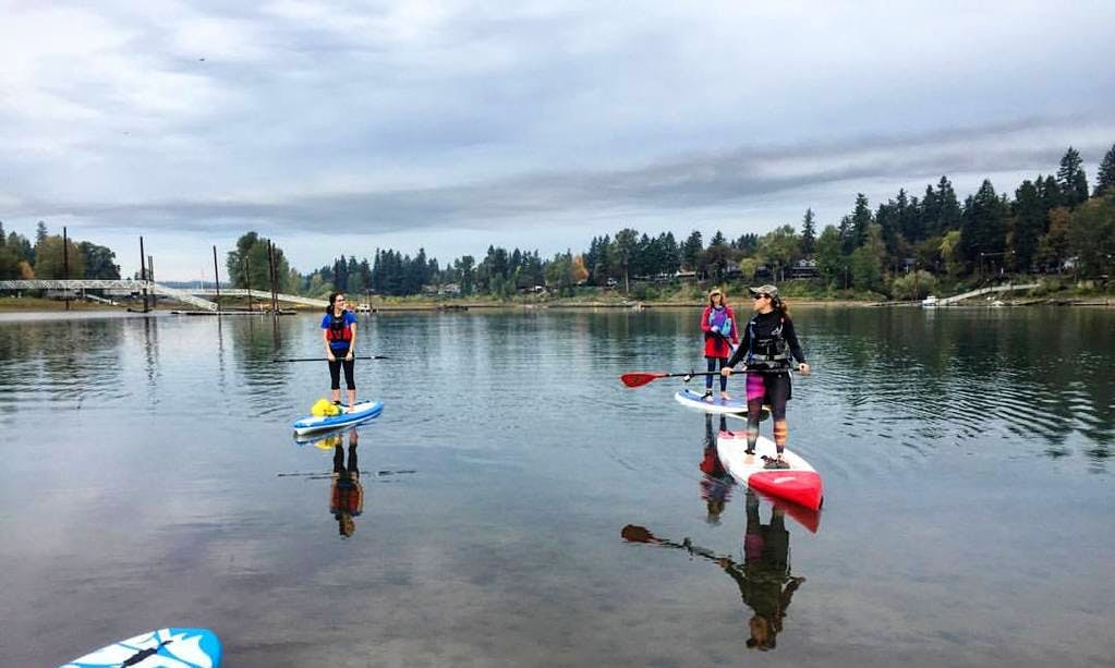 Enjoy Stand Up Paddleboard in Porvoo, Finland