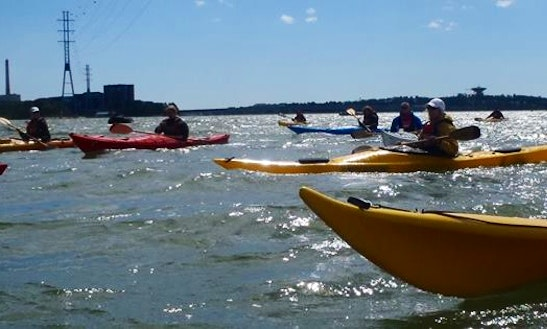 Enjoy Kayak Rentals In Helsingfors, Finland