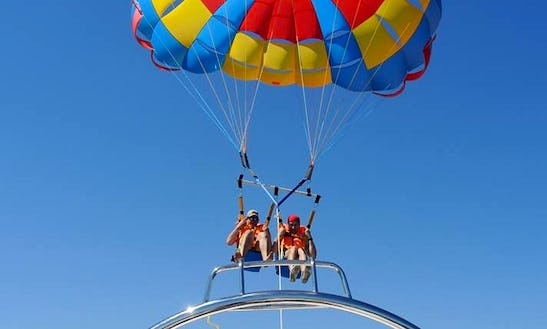 Enjoy Parasailing In Gdynia, Poland