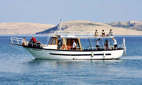 Charter A Passenger Boat In Pag, Croatia
