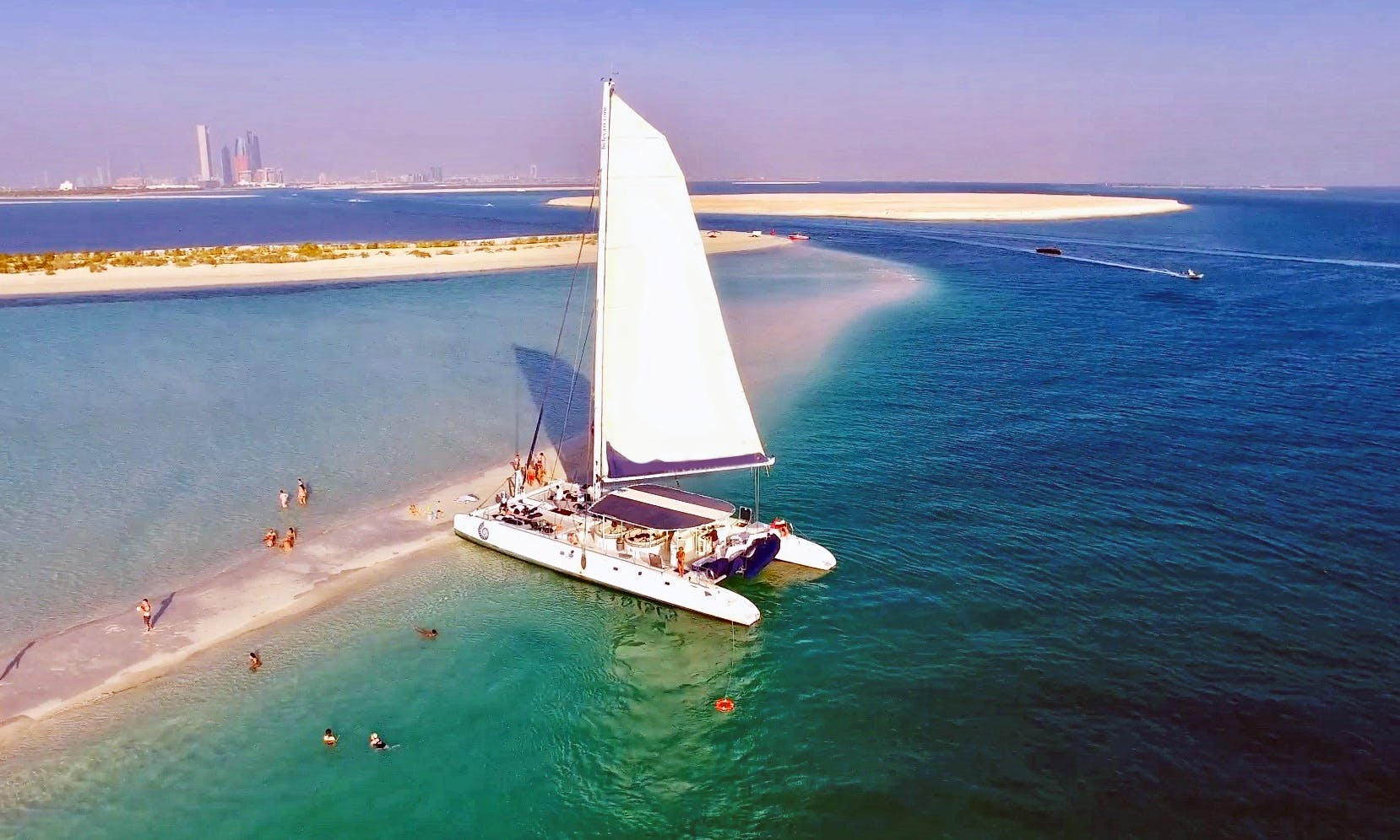 74 ft Catamaran Party for Up to 65 People in Dubai, UAE