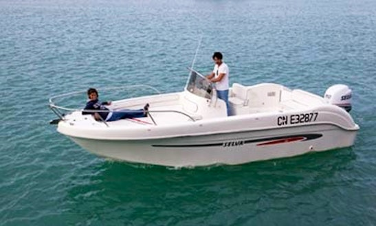Rent 22' Selva Center Console In Léhon, France