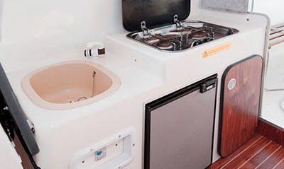 Rent 24' Guy Marine Evada Cuddy Cabin in Léhon, France