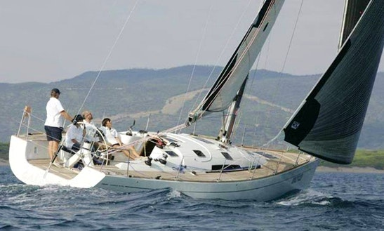 Charter Comar 41s Cruising Monohull In Rome, Italy