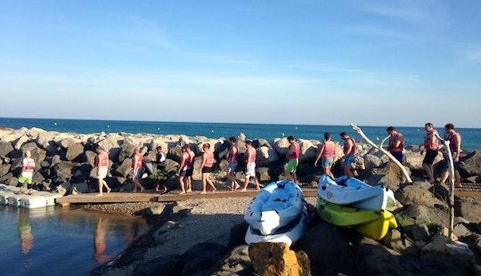 Unforgettable Double Kayak Rentals In Marseillan, Occitanie