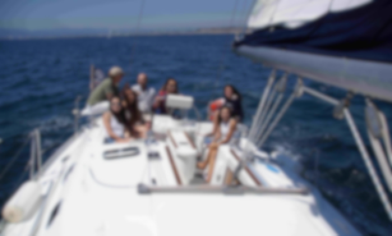 Beneteau 40 Cruising Sloop in Marina del Rey with Captain Mark