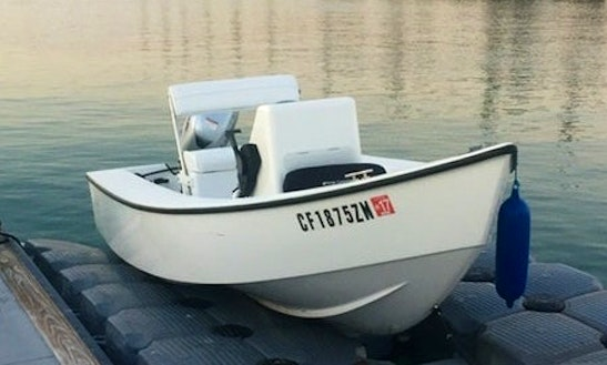 14' Center Console With Captain