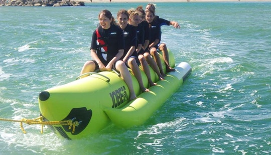 Exhilarating Banana Boat Rides In Palavas-les-flots, Occitanie, France!