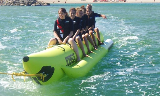 Enjoy Banana Boat Rides In Palavas-les-flots, Occitanie, France!