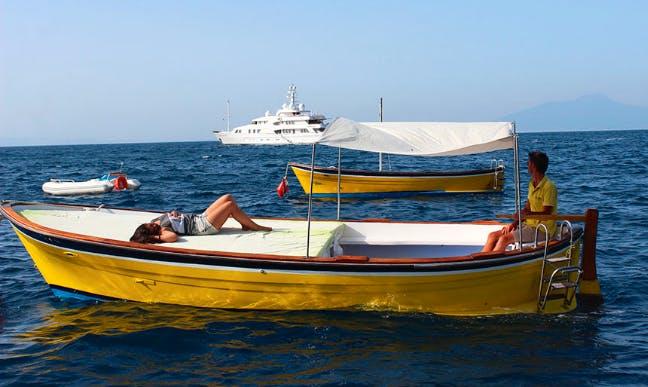Rent 20' Nikki Gozzo in Capri, Italy