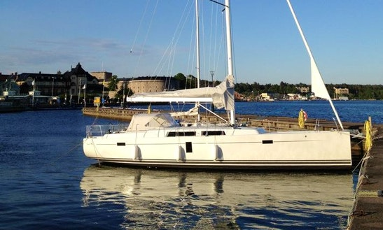 Charter Hanse 445 Crusing Monohull In Vaxholm, Sweden