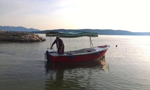 Rent 16' Maestral 500 Dinghy in Živogošće, Croatia