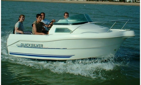 Rent Quicksilver 435 Cuddy Cabin In Royan, France