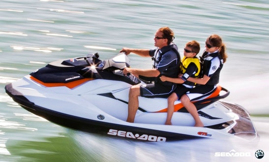 Rent Seadoo Gti 130 4t Jet Ski In Royan, France
