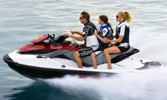 Rent Seadoo Gti 155 4t Jet Ski In Royan, France