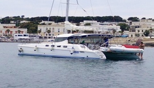 Captained Charter On 36ft Aventura Sailing Catamaran From Leuca, Italy