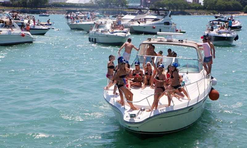 Enjoy the day on the water with friends and family in Chicago