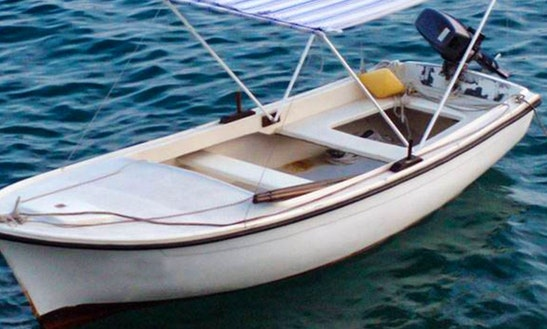 Rent 15' Pasara Dinghy In Prijevor, Croatia
