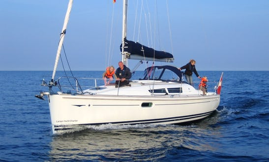 Charter 36' Jeanneau Sun Odyssey 36i Crusing Monohull In Nordborg, Denmark