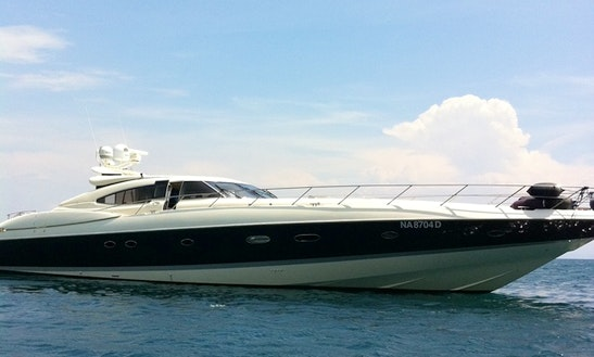 Charter 80' Sunseeker Predator Power Mega Yacht In Portiglioni Gr, Italy
