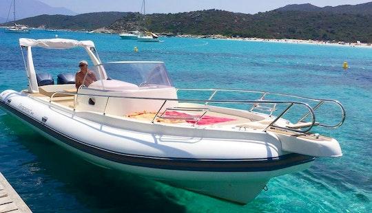 Rent A Rigid Inflatable Boat In Saint-florent, France