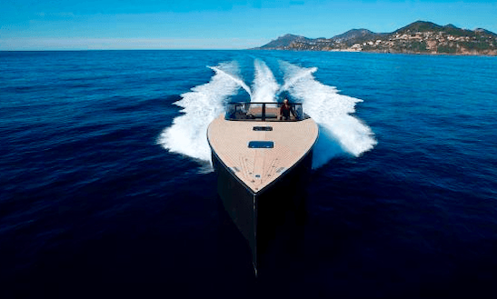 Charter 40' Van Dutch Motor Yacht In Saint-jean-cap-ferrat, France