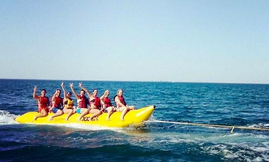 Enjoy Banana Boat Rides In La Flotte, France