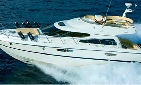 Charter 50' Cranchi Atlantique Power Mega Yacht In Portiglioni, Italy
