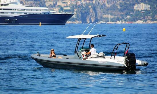 Rent 27' Airship Rigid Inflatable Boat In Saint-jean-cap-ferrat, France