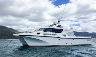 Big Game Fishing Charters at Pirates bay Eaglehawkneck Tasmania