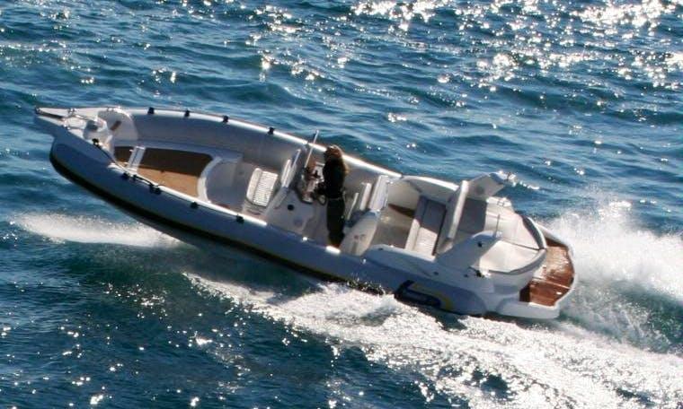 Marlin 25 EFB Inflatable Boat Rental in Sant Antoni de Portmany, Spain
