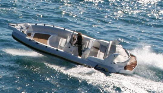 Marlin 25 Efb Inflatable Boat Rental In Sant Antoni De Portmany, Spain