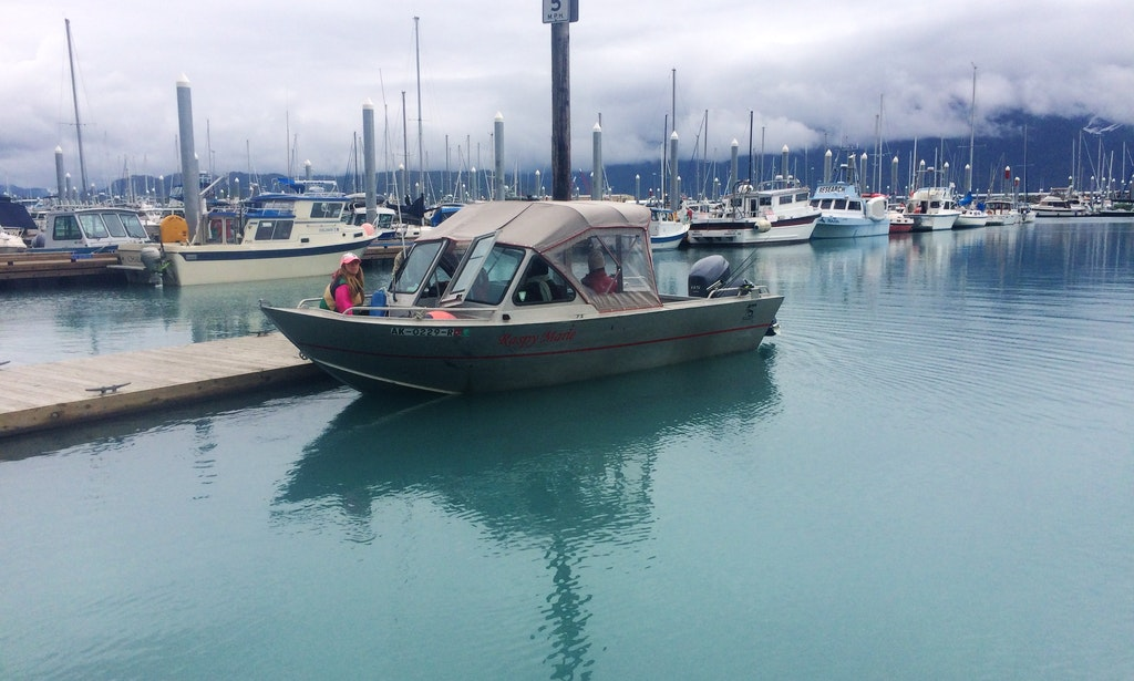 21 Aluminum Runabout Rental In Seward Alaska
