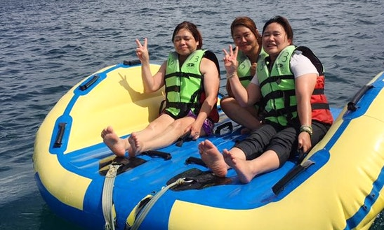 Enjoy Tubing In Hengchun Township, Taiwan