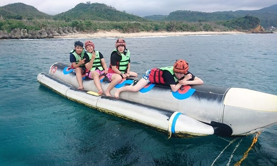 Enjoy Banana Rides In Hengchun Township, Taiwan