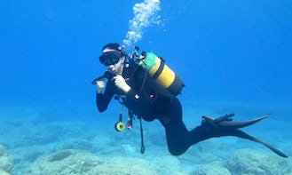 Scuba Diving with a CMAS Diving Centre in Ayia Napa, Cyprus