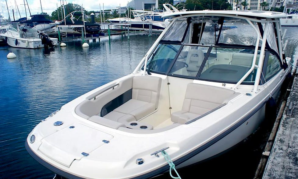 """Cruise in Style in Guadeloupe On """"Espérance"""" Boston Whaler Boat"""