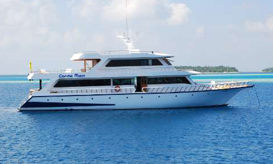 Charter 108' Conte Max Power Mega Yacht In Maldives