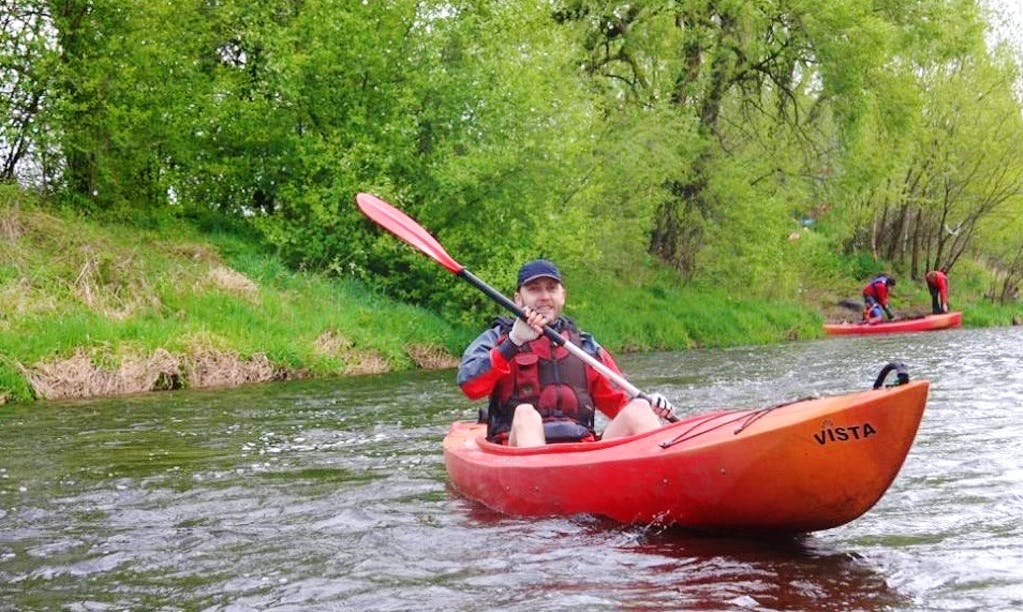 Rent a Single Kayak in Brodnica, Poland