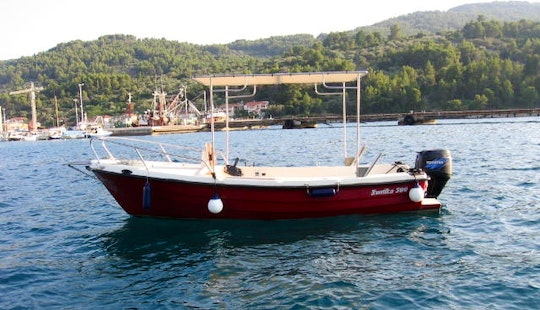 Discover The Beautiful Views Of Vela Luka, Croatia - Rent This 16' Center Console