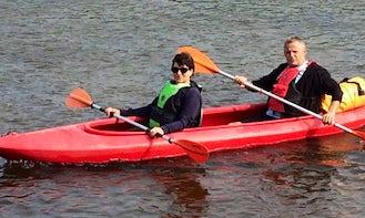Enjoy Canoeing in Łowicz, Poland