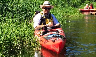 Rent a Single Kayak in Łowicz, Poland