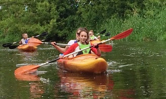 Rent a Double Kayak in Łowicz, Poland