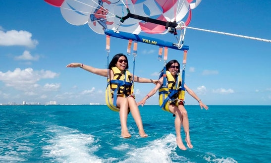 Enjoy Double Parasail Rides In Ayia Napa, Ammochostos
