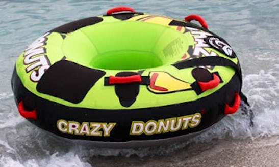 Enjoy Crazy Donut Rides In Mlini, Croatia