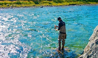 Enjoy Fly Fishing in Inari, Finland