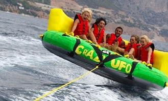 Enjoy Crazy UFO Rides in Mlini, Croatia